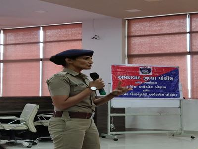 Guest Session on Cyber Law, Traffic Rules and Women Empowerment